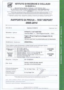 certificazione speedycover