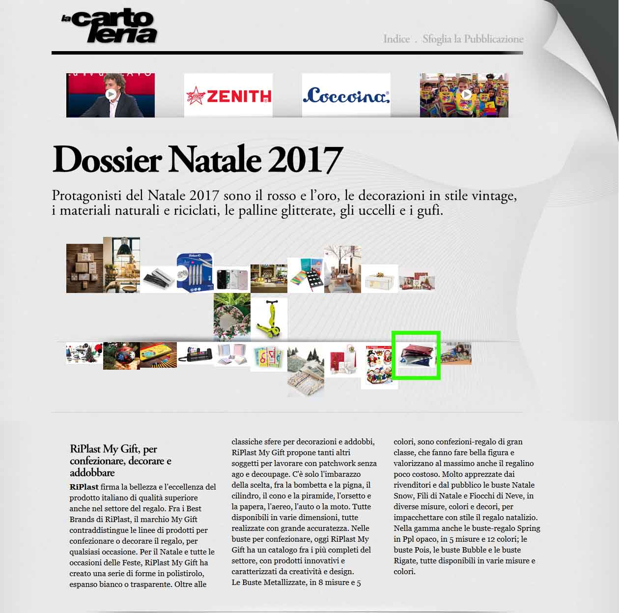 www.lacartoleria.com - Dossier Natale - My Gift