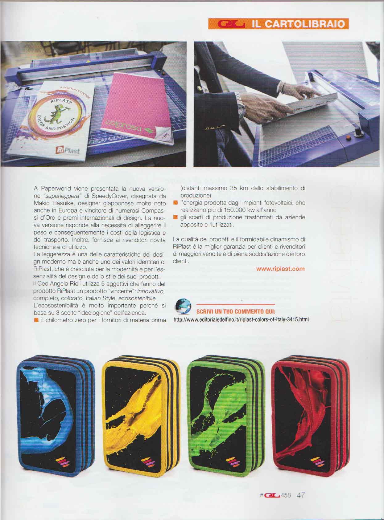 IL CARTOLIBRAIO n 458 - Colorosa + BKL Sport_4