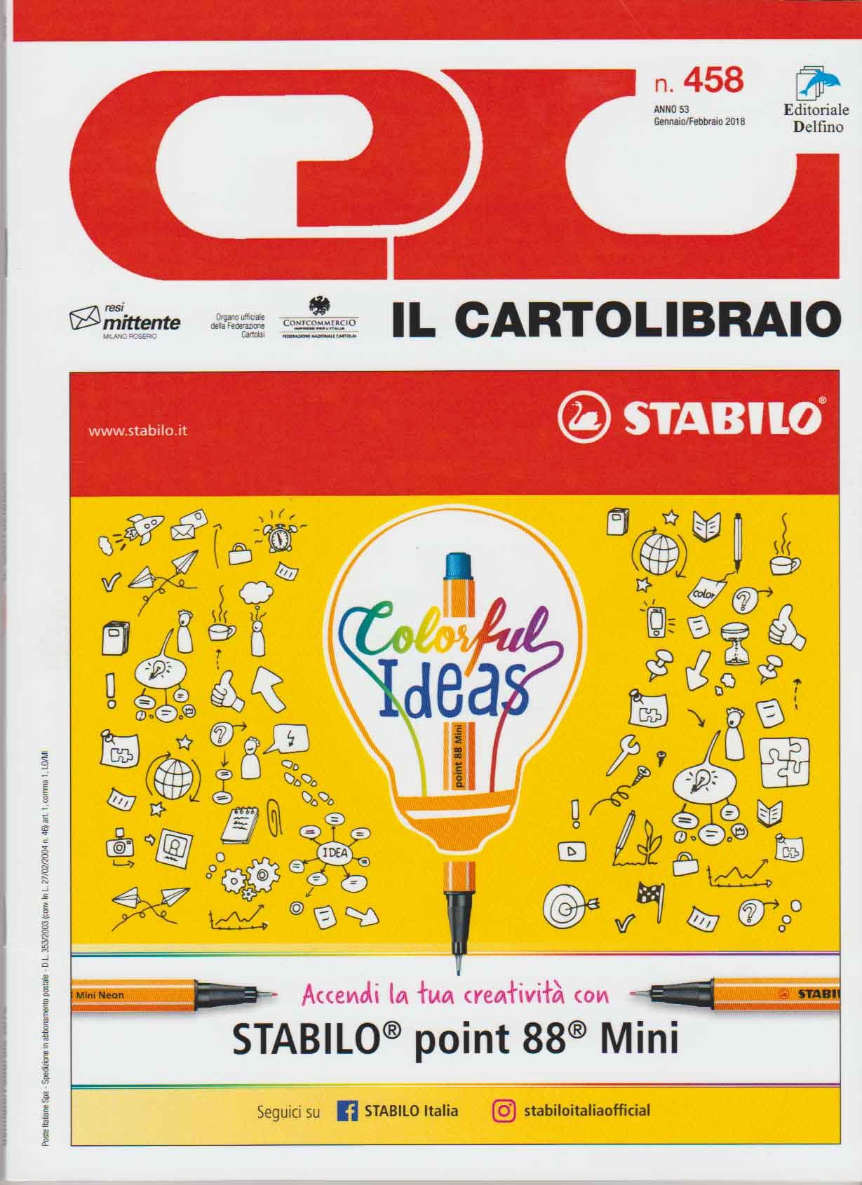 IL CARTOLIBRAIO n 458 - Cover